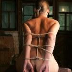 Beauty woman bound — Stock Photo #4990214