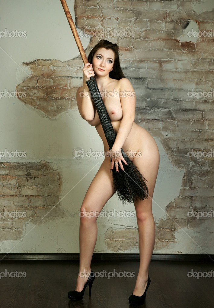 A Witch On Her Broom